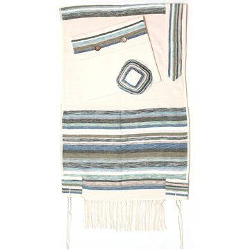 Picture of Tallit Gan Eden - Blue