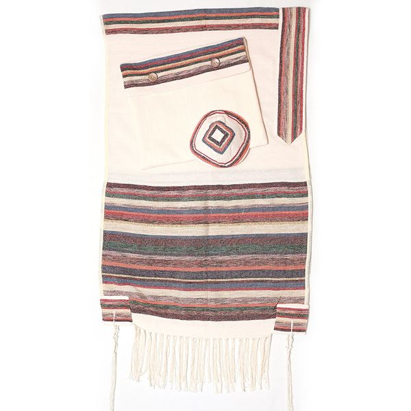 Picture of Tallit Gan Eden - Red