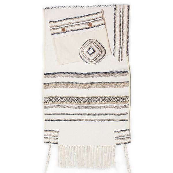 Picture of Tallit Malchut White
