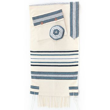Picture of Tallit Masoret Blue