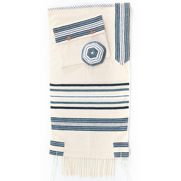 Picture of Tallit Masoret Blue