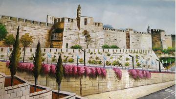 תמונה של ציור מגדל דוד