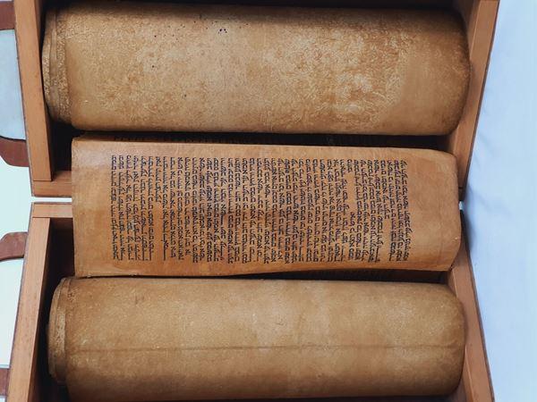 תמונה של ספר תורה  על גויל