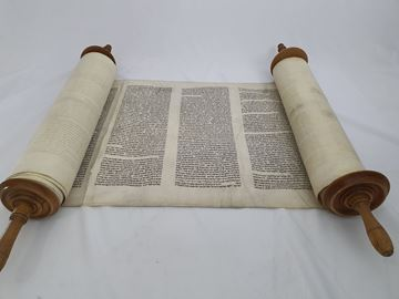 Picture of Torah scroll