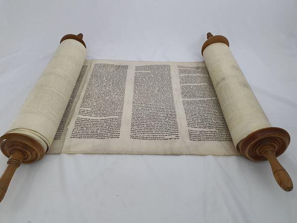 Picture of Torah scroll